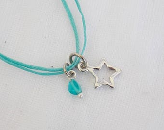 Dainty Star Necklace, Tiny Star Necklace, Shooting Star Pendant, Make A Wish Layering Necklace, Birthstone Necklace, Astronomy Necklace