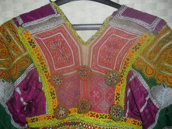 Ireland Vintage AFGHANI KUCHI. Boho dress