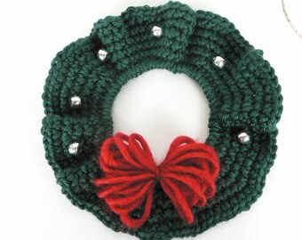 Single Crochet Bangle Wreath Pattern - PDF file pattern
