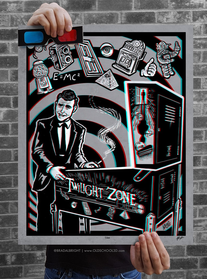 You're Now Entering The Pinball Zone  3D Poster with image 0