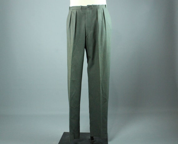 40's Made in England Pleated Trousers Vintage 1940