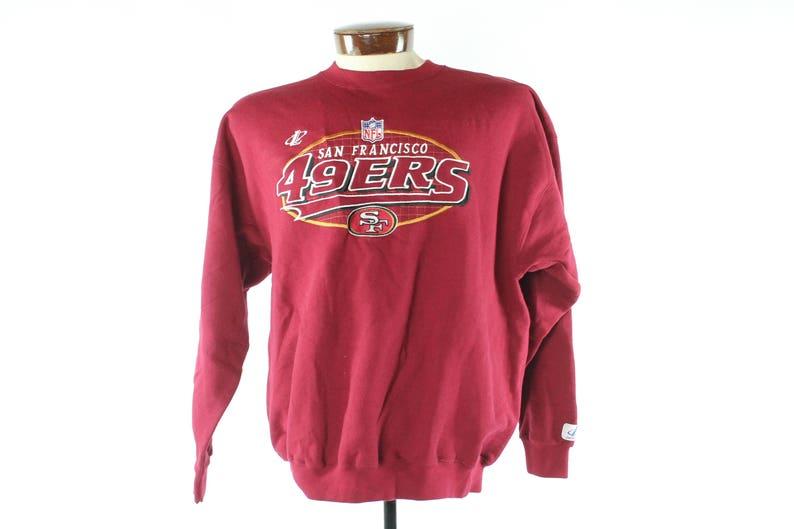 sale retailer 71318 8b01d 90s San Francisco 49ers Sweatshirt NOS Logo Athletic NFL   Etsy
