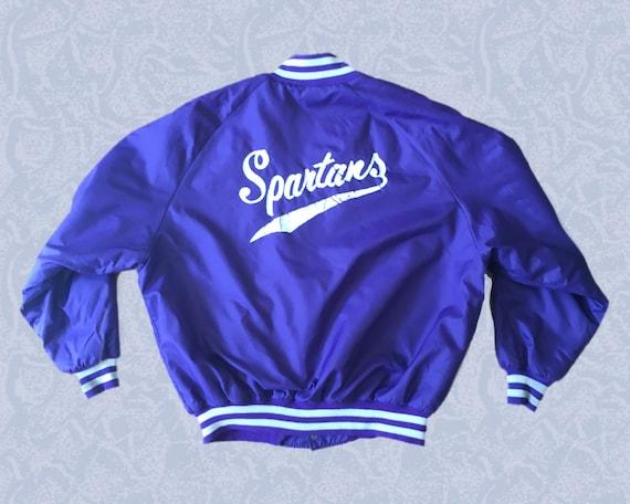 Purple Coach Jacket 70s 80s VTG - image 2