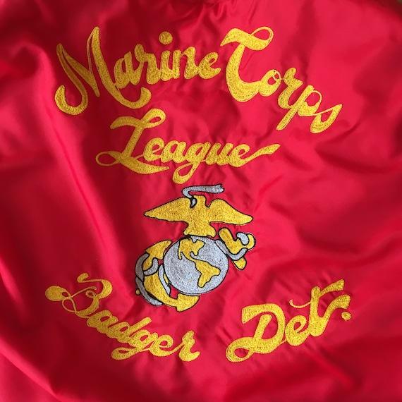 Red USMC Marines Jacket 70s 80s VTG - image 4