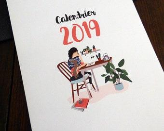 Couple gifts christmas 2019 calendar