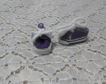 """Doll Shoes 25mm LIGHT PURPLE Ankle Strap w Bow fit Kish Riley 7 1//2/"""" Ginny"""