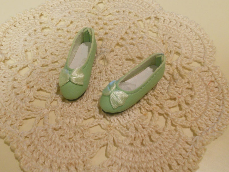 Patience DOLL Shoes Light Purple 44mm Flats for Ellowyne