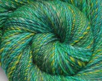 Handspun yarn - Merino wool yarn, DK weight - 455 yards - April Showers