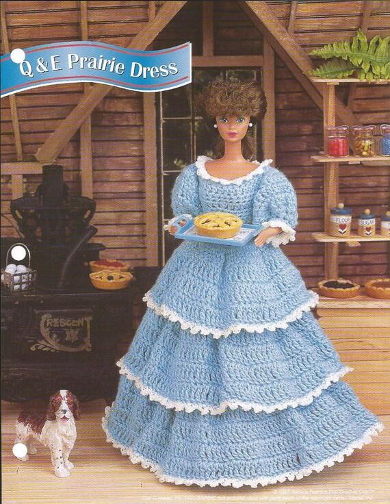Häkeln Sie Muster Häkeln Barbie Puppe Kleidung Muster Prairie Etsy