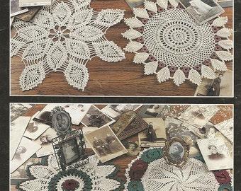 Crochet Pattern, Crochet Doily Pattern, Crochet Heirloom Doilies