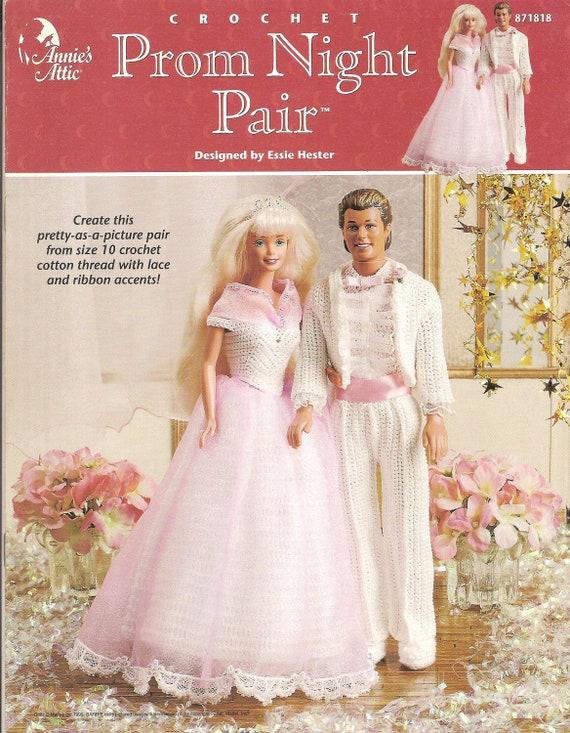 Muster häkeln Barbie-Puppe Kleidung Muster Ken Puppenkleidung | Etsy