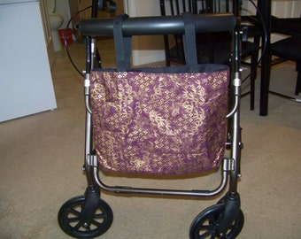 Convertible Walker and Wheelchair Tote