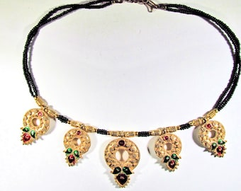 53bd17f86ab Karen Lynne Wreath Necklace
