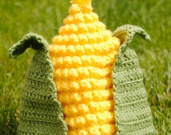 Corn Hat Crochet Pattern