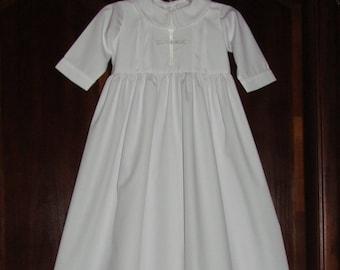 Unisex Baptism Gown Etsy