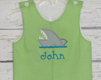 0fe1d54b9b6c Baby shark romper