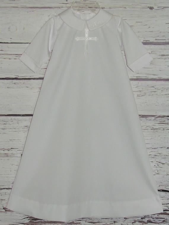 Adult baptism gown, old fat latinstures