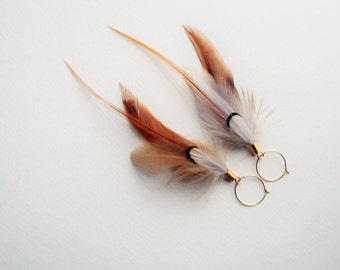 Dovetail Feather Earrings