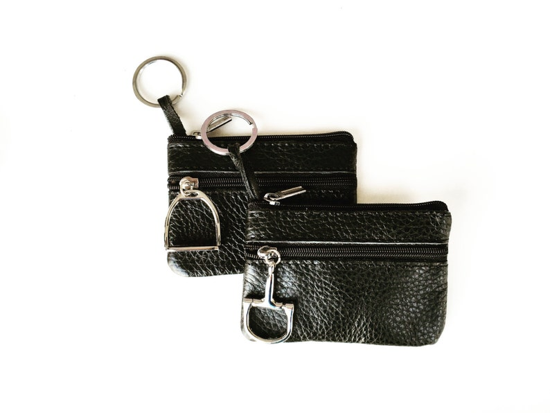 91d06898ff Leather Coin Pouch leather coin purse Leather wallet