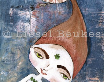 Courage-Bhoomie - Very Cute Art Print