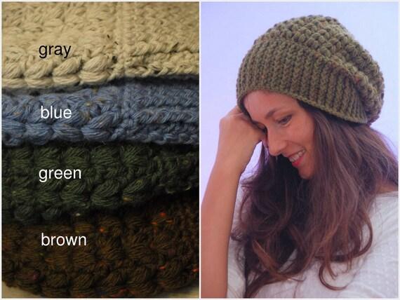 535fad92346 EXPRESS SHIPPING US   Canada Green crochet beanie hat