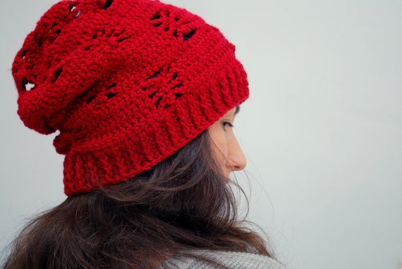 e1e43435954 Items similar to EXPRESS SHIPPING US   Canada - Garnet beanie hat ...