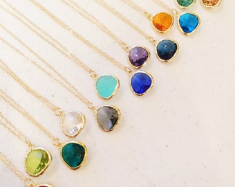 Teardrop Gold Necklaces - As seen on Instagram - Christmas Gift under 25 - Gift for her