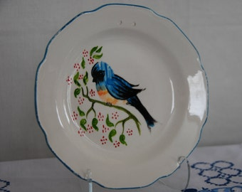 Vintage Blue Bird Plate