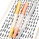 Planner accessories, SIGNATURE CRYSTAL Pen, Couture Rose Gold, Wedding Diamond Pen, Sparkle Gem Pen Office Planner Supplies back to school
