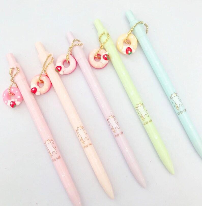 DONUT MECHANICAL Pencil  Kawaii Pencil Kids Novelty Pencils image 0