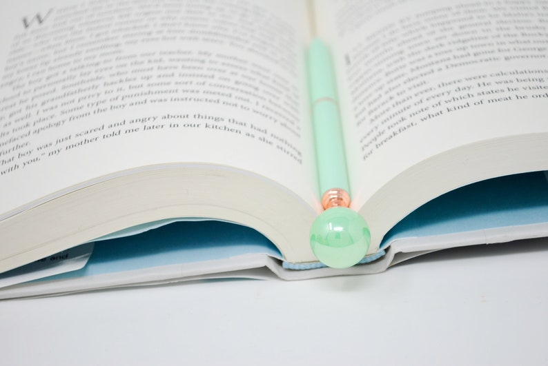 Pearl Pen  PASTEL PEARL PEN  Pen Gift for her Weddings Guest image 0