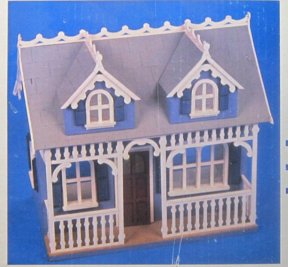 1988 Tiffani Dollhouse Kit Wooden Dollhouse Gingerbread Etsy