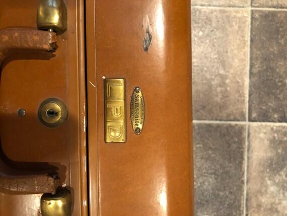 Dating vintage Samsonite bagage