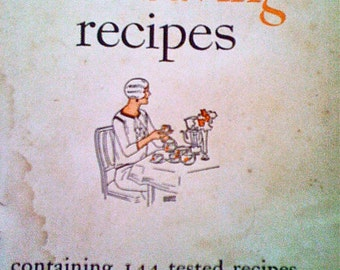 Vintage Cookbook Recipes 12 Dozen Time Saving Recipes 1928