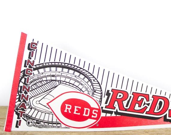 Vintage Boston Red Sox Pennant / Red Sox Collectible / Large MLB Baseball Souvenir Felt Pennant