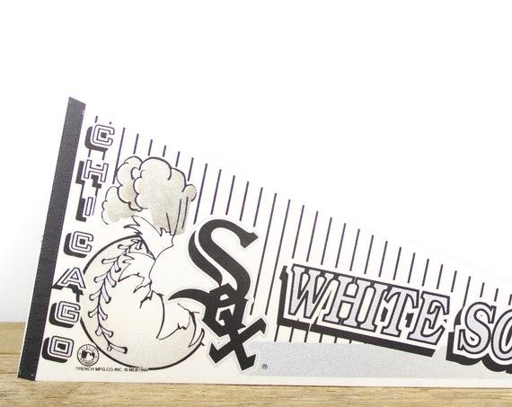 Vintage Chicago White Sox Pennant / White Sox Collectible / Large MLB Baseball Souvenir Felt Pennant