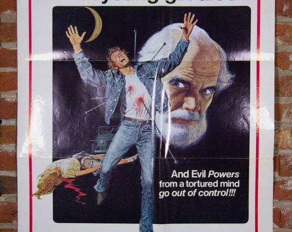"Dark August from 1976 Movie Poster - Original 27"" X 41"" (1) One Sheet Folded Movie Poster - Horror, Mystery, Thriller"