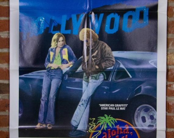 "Aloha Bobby and Rose Movie Poster from 1975 - Original 27"" X 41"" (1) Sheet Folded Poster - Drama - 1968 Chevrolet Camaro Car Poster"
