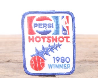 Vintage 1980 Pepsi Hotshot Winner Patch / Scout Patch / Girl Scout Patch / Boy Scout Patch / Grunge Patch / Pepsi Collectible Gift