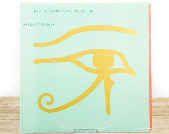 "Vintage Alan Parsons ""Project Eye in the Sky"" Vinyl LP Arista AL 9599 Shrink Hype Vinyl Records / Rock Pop / 1980's / Old Records"