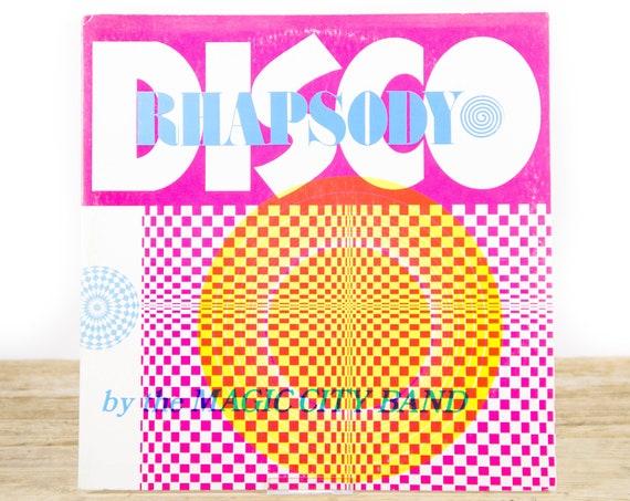 Vintage & Rare Disco Rhapsody - Magic Disco AR 3720 LP Vinyl Records / Old Records / Soul Funk Boogie LP