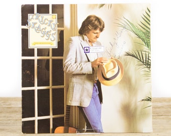 "Vintage 1981 Ricky Skaggs ""Waitin' For The Sun To Shine"" Epic 37193 LP Record Album LP Vinyl Record / Antique 33 Vinyl Records / Country"
