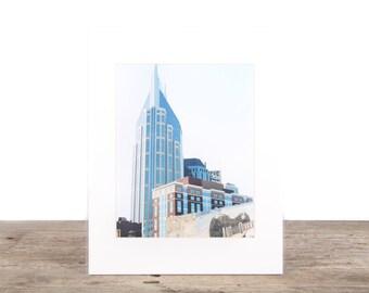 Original Fine Art Photography / Nashville Skyline Street Photography / Modern Architecture Unique Photography / Signed  Photography Prints