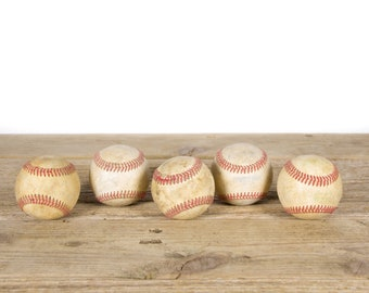 Old Baseball / Vintage Baseball / Antique Baseball Decor / Baseball Decorations / Old Baseball / Antique Baseball / Sports Decor