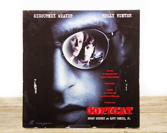 Vintage 1995 Copycat LaserDisc Movie / Vintage Laser Disc Movies / Movie Theater Decor / Movie Room Decor Movie Posters / 90s Decor