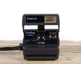 Polaroid Camera / Working One Step Close Up Camera / Old Polaroid Camera / Polaroid Onestep Camera / Vintage Polaroid Camera /Retro Polaroid