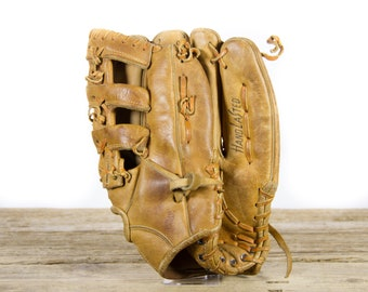 Old Vintage Leather Baseball Glove / MacGregor Pet Rose Glove / Antique Baseball Glove / Old Glove Antique Mitt / Baseball Decor