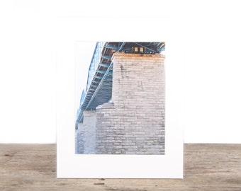 Original Fine Art Photography / Street Photography / Bridge Art / Modern Architecture / Unique Photography / Signed  Photography Prints