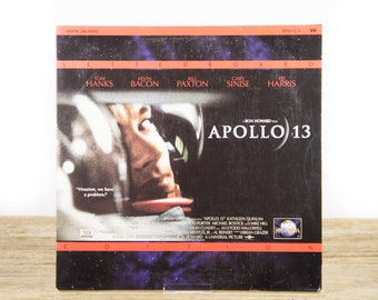 Vintage 1995 Apollo LaserDisc Movie / Vintage Laser Disc Movies / Movie Theater Decor / Movie Room Decor Movie Posters / 90s Decor