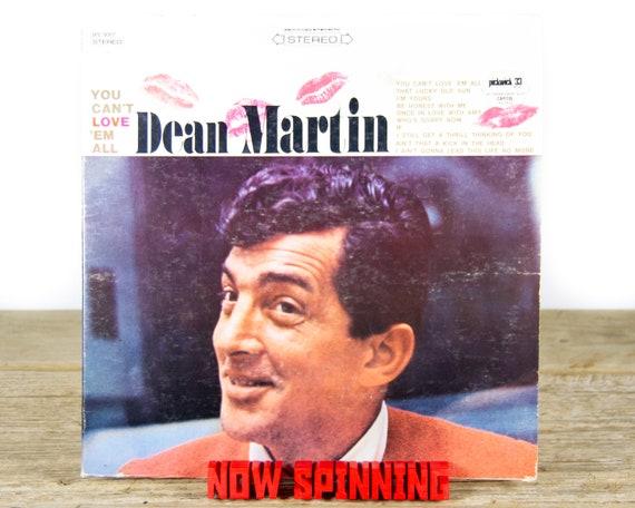 "Vintage Dean Martin ""You Can't Love 'Em All"" (1967) Vinyl Record / Antique 33 Vinyl Records / Old Records / Ballard / Jazz / Pop"